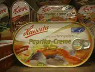 Hawesta Lachsfilet, Paprika-Creme, Tomaten-Creme and other flavours